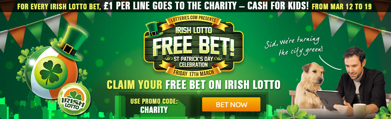 Free Irish Bet St Patricks Day