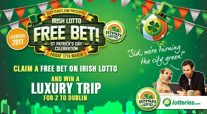 Free Bet, Irish Lotto, St Patrick's Day