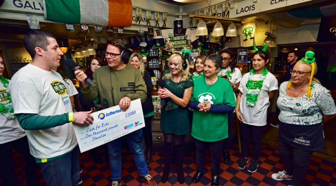 St Patrick's Day Lotteries.com