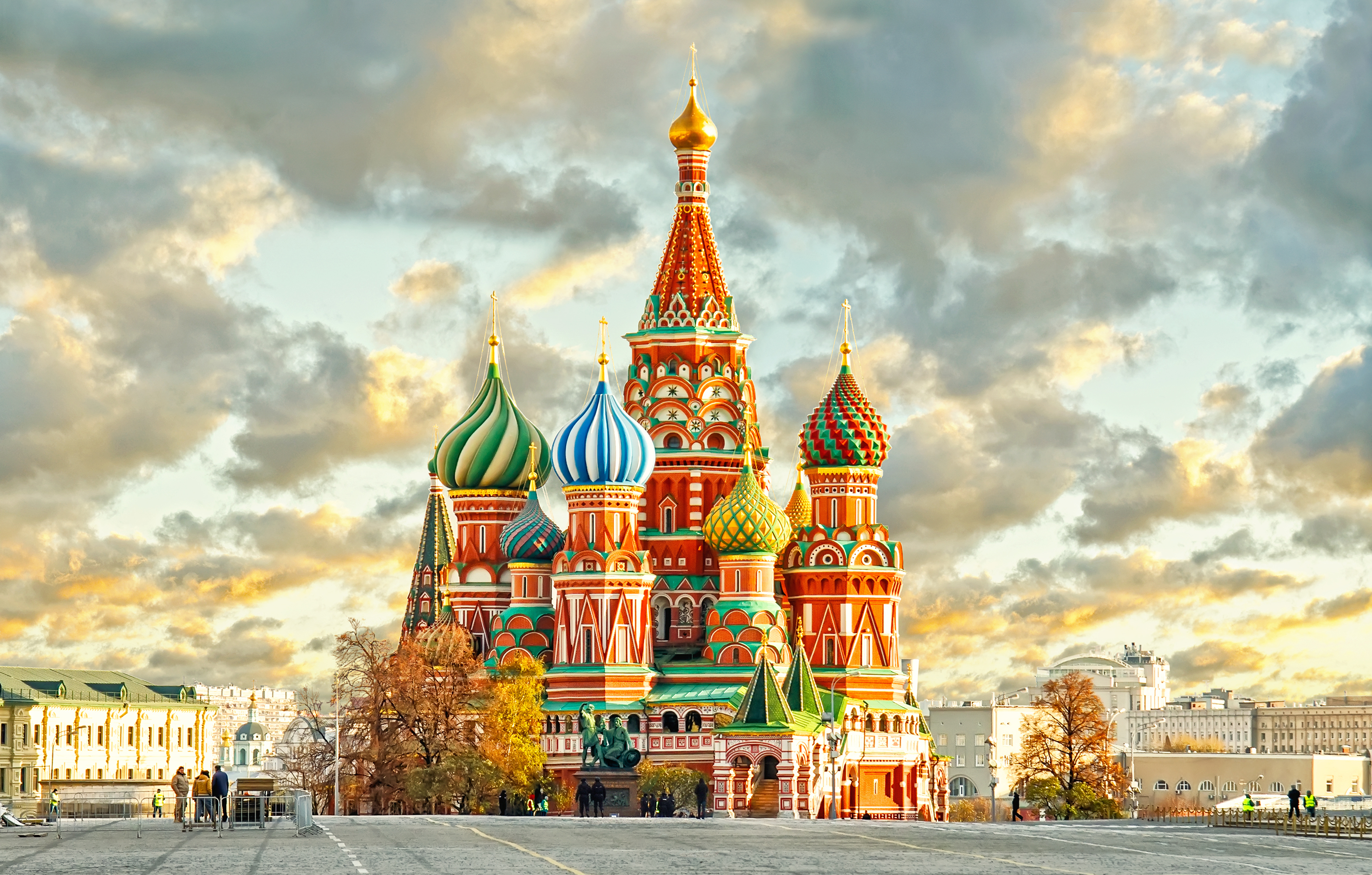 Moscow's St. Basil's Cathedral