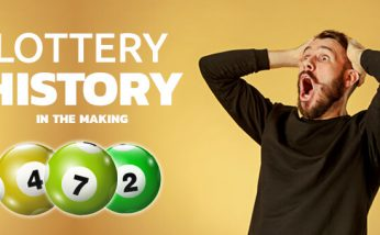 lottery history in the making