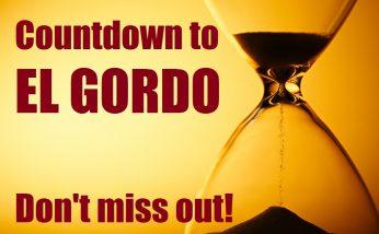 countdown to el gordo