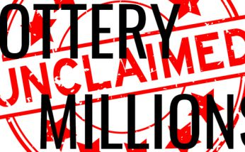 unclaimed lottery ticket