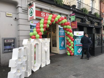 Irish Lotto winning ticket sale